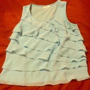 Cato blue tank top size XL